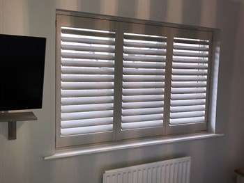 Coloured Plantation Shutter