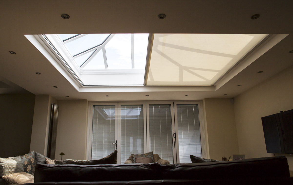 Orangery Zip Roof Blinds In Newcastle Upon Tyne