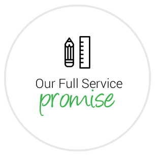 Our full service promise